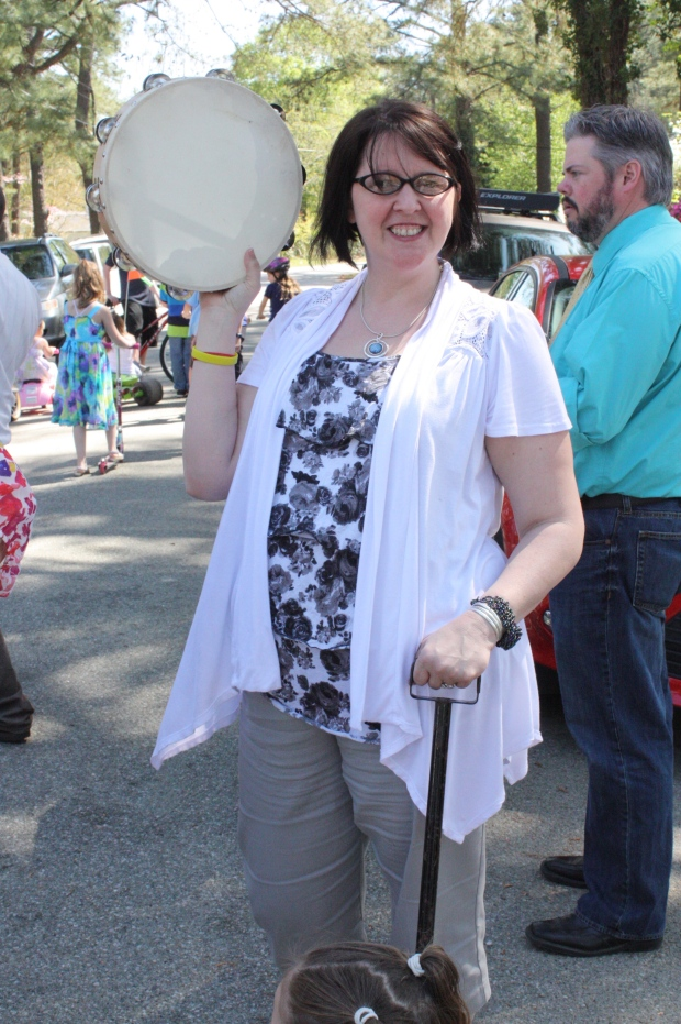 I got to shake the tambourine- in honor of Paw
